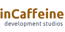 inCaffeine Development Studios logo